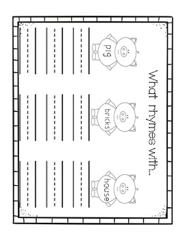 The Three Little Pigs: Counting and Writing
