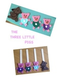 The Three Little Pigs Craft Template