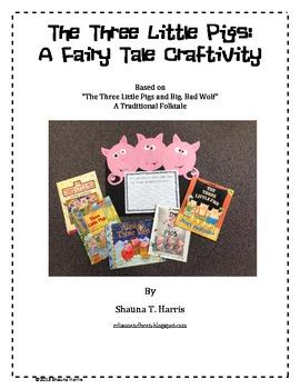 The Three Little Pigs Craftivity