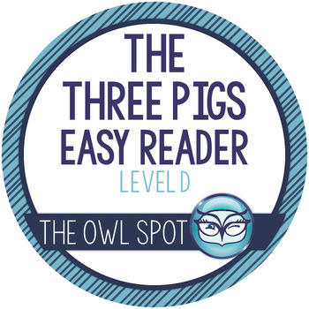 The Three Little Pigs Easy Reader and Comprehension Worksheets