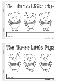 Three little pigs picture book pdf