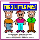 The Three Little Pigs - Fairy Tale Theater Thematic Unit