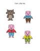 The Three Little Pigs File Folder Activities
