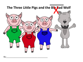 The Three Little Pigs Fractured Fairy Tale