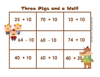 The Three Little Pigs Games and Activities