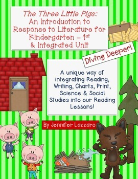 The Three Little Pigs: Integrated Reading Unit w/ Science & Soc St.