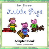 The Three Little Pigs Interactive Book(Special Education and Autism resource)