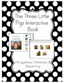 The Three Little Pigs Interactive Book