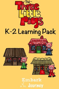 The Three Little Pigs K-2 Learning Pack