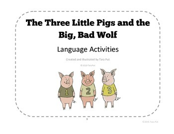The Three Little Pigs - Language Activity Pack