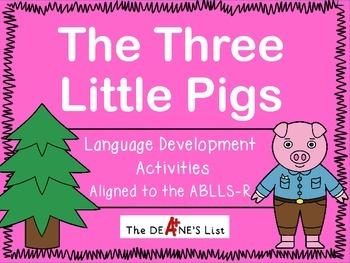 The Three Little Pigs Language Development Activities