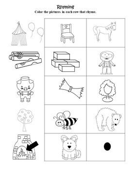 The Three Little Pigs Language Literacy Activity