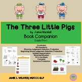 The Three Little Pigs Activities Book Companion
