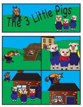 The Three Little Pigs- Learning Story Elements through Fairy Tales
