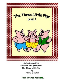 The Three Little Pigs Level 1 Digital Version