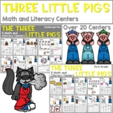 The Three Little Pigs   Literacy Centers and Math Centers