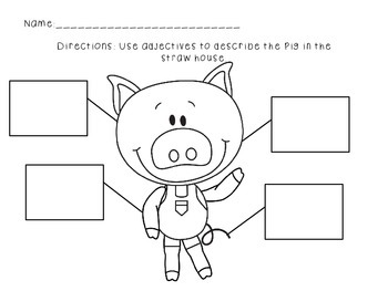 The Three Little Pigs Literacy Pack