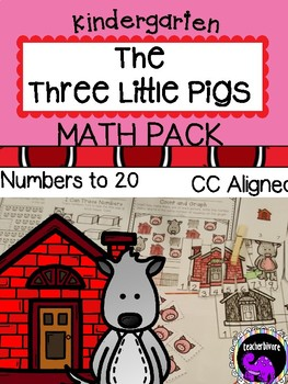 The Three Little Pigs Math Activity Pack For Kindergarten