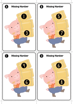 The Three Little Pigs Math Centers