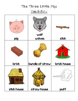 The Three Little Pigs Math Pack