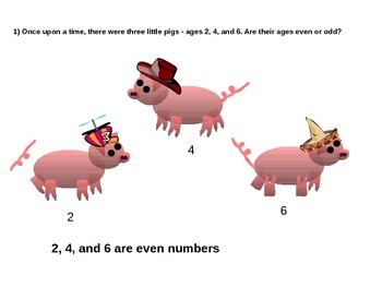 The Three Little Pigs Math Story