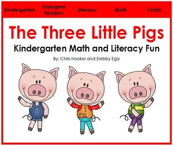 The Three Little Pigs: Math and Literacy Fun