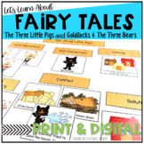 The Three Little Pigs Meet Goldilocks and the Three Bears {Fairy Tale Unit}