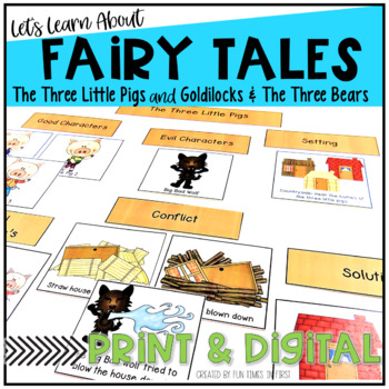 The Three Little Pigs Meet Goldilocks and the Three Bears
