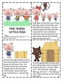 The Three Little Pigs Mini Book Reader