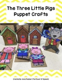 The Three Little Pigs Puppet Crafts