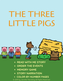 The Three Little Pigs Interactive Reader & Activities