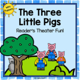 The Three Little Pigs - Reader's Theater and Puppet Fun!
