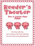 The Three Little Pigs: Readers' Theater PACK