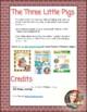 The Three Little Pigs Reader's Theater for Kindergarten