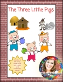 The Three Little Pigs Reader's Theater for Kindergarten