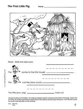 The Three Little Pigs - Reading and Writing for Fun