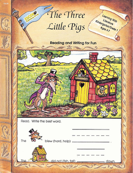 The Three Little Pigs, Reading and Writing for Fun