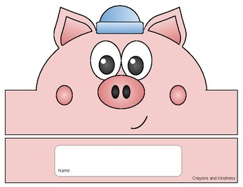 The Three Little Pigs - Retelling Character Hats