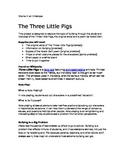 The Three Little Pigs- Role Play