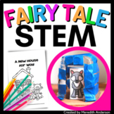 The Three Little Pigs STEM Activity - A New House for Wolf