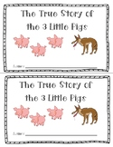 The Three Little Pigs Sequencing Mini Book