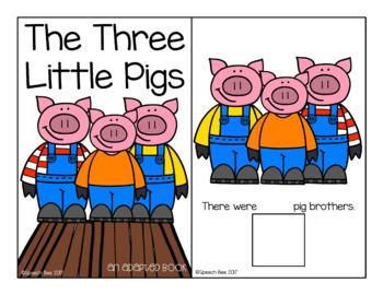 The Three Little Pigs Speech and Language Companion