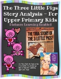 The Three Little Pigs Story Analysis for Upper Elementary