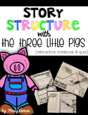 The Three Little Pigs Story Structure Interactive Notebook