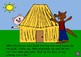The Three Little Pigs Story on Power Point