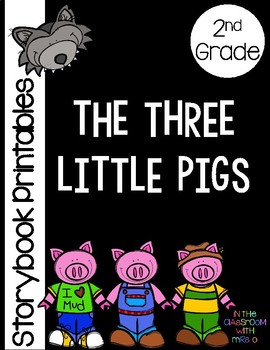 The Three Little Pigs Storybook Printables