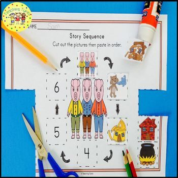 The Three Little Pigs Fairy Tales Worksheets Activities Games and More