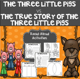 The Three Little Pigs Vs.  The True Story of the Three Little Pigs
