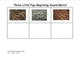 The Three Little Pigs Word Sort