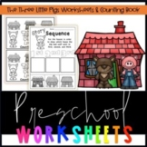 The Three Little Pigs Worksheets & Counting Book